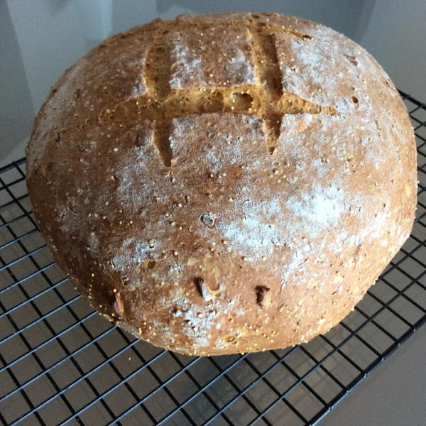 Crunchy Farmhouse Bread (breadmaker) Recipe