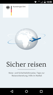 Sicher reisen- screenshot thumbnail