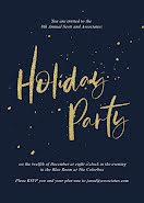 8th Annual Holiday Party - Winter Holiday item