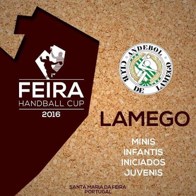 Andebol Club de Lamego participa no Feira Handeball Cup