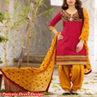 Patiyala Dress Design - náhled