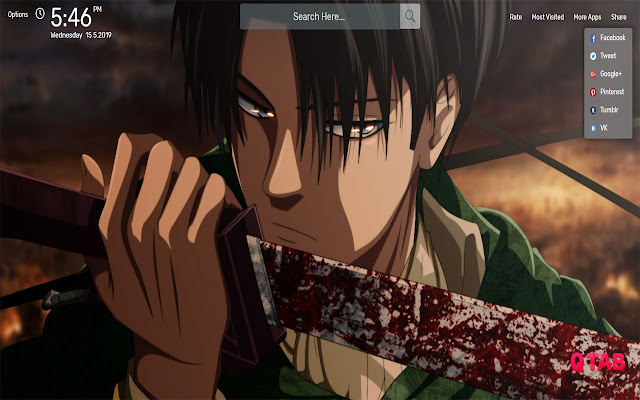 Attack On Titan Levi Wallpapers