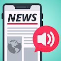 Voice News Reader - Listen updated news icon