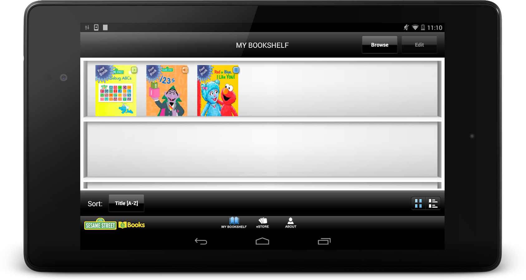 Sesame Street eBooks- screenshot