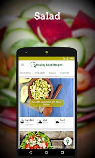 Salad Recipes - Green vegetable salad recipes - náhled