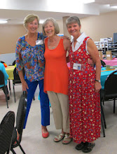Photo: The Potluck Committee, Grannies Sue U, Barb and Kathy (Carol S missing)