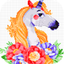 Unicorn Color Sandbox: Color by Number Free 1.0