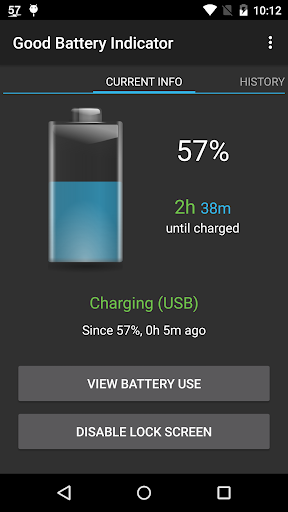 Good Battery Indicator