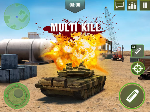War Machines: Free Multiplayer Tank Shooting Games 3.7.1 screenshots 2