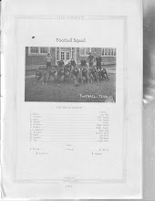 Photo: Football Team:J.Edgar-Left End/V.Vandiver-Left Tackle/J.Lanier-Left Guard/H.Neblett-Center/G.B.Moore-Right Guard/C.Walker-Right End/N.Brantley-Qtrback/B.Smith-Left Half/N.Landers-Full Back/E.Nail-Right Half/Subs:A.French/J.Ferrell/E.Moore/M.Lancaster/R.Sanders