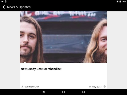 Sundy Best Mobile App- screenshot thumbnail