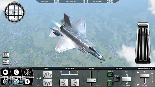 Flight Simulator 2017 FlyWings Free  screenshots 5