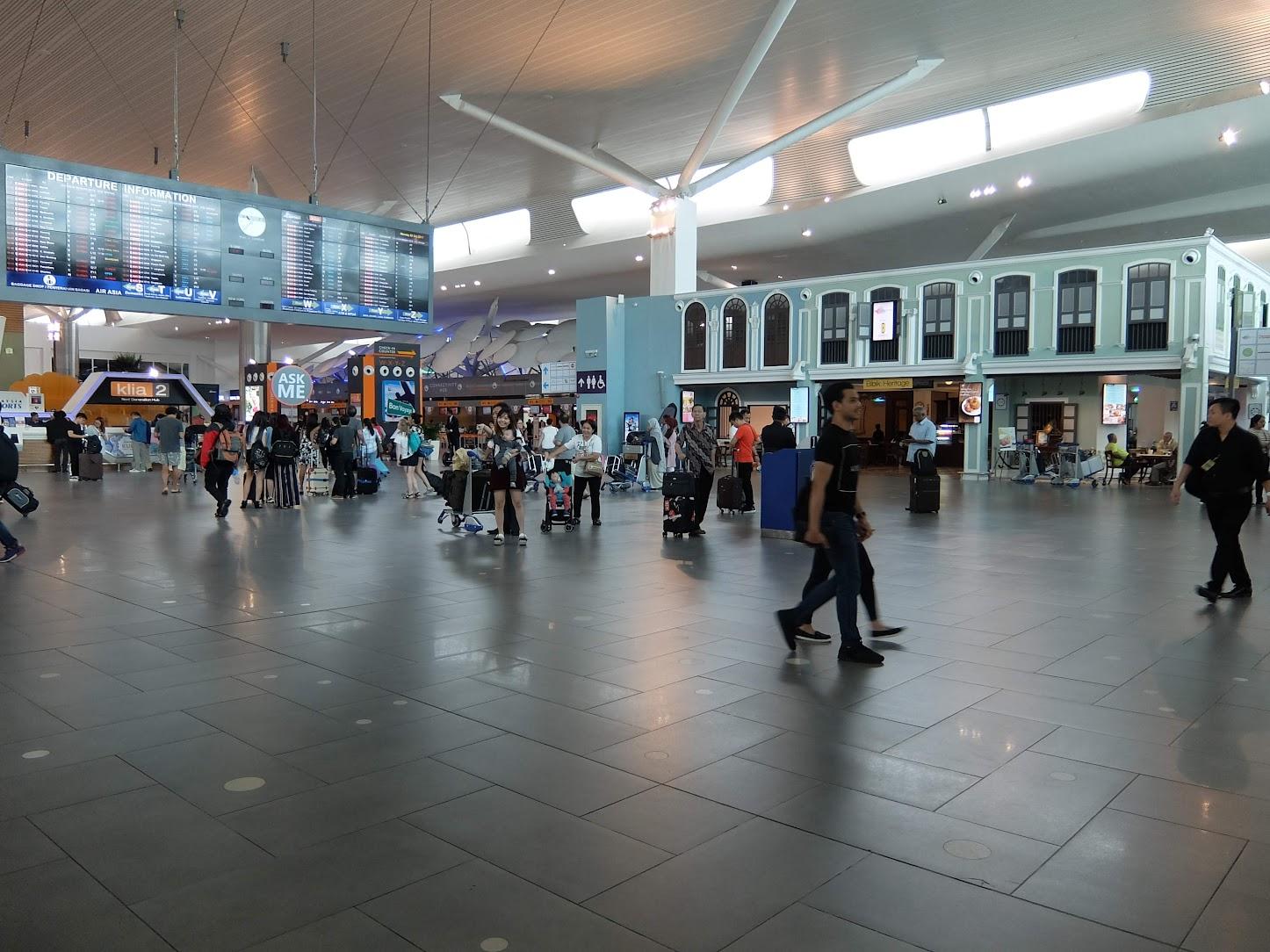 KLIA2 Departure Lobby