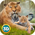 Life of Sabertooth Tiger 3D icon