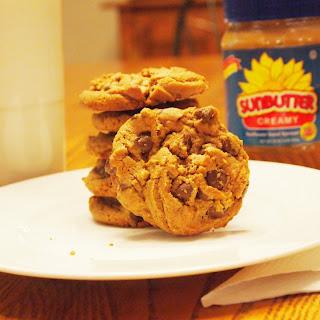 Flourless Chocolate Chip Cookies.