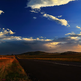 After the Storm by Cobus van Zyl - Novices Only Landscapes ( sky, rain, roadside, roads, after rain )