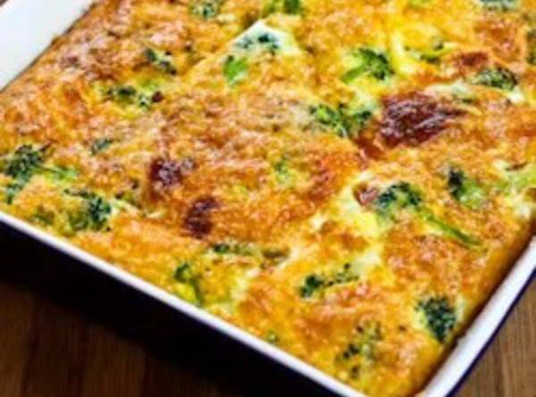 Broccoli - Cheese Squares Recipe