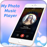 My Photo Music Player With My Photo Background