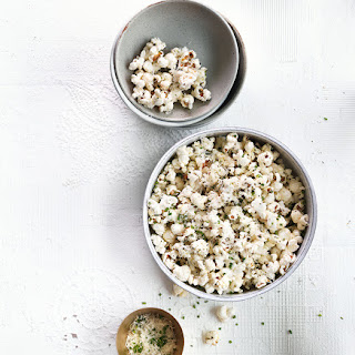 Rosemary-Parmesan Buttered Popcorn