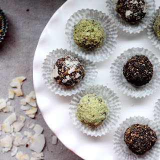 Carob Walnut Energy Balls