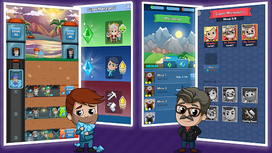 Game Idle Miner Tycoon APK for Windows Phone