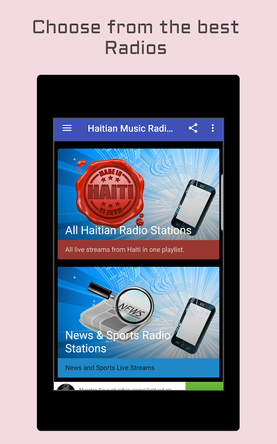 Haiti Music Radio Stations- screenshot