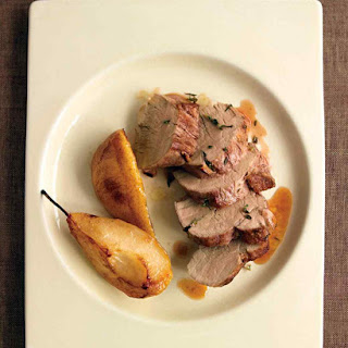 Herb-Roasted Pork Tenderloin with Pears Recipe