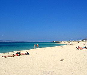 Photo: Kastraki Beach , Naxos Island - Cyclades  , Greece