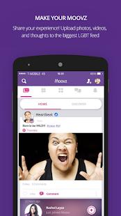 Moovz- The LGBT Social Network- screenshot thumbnail