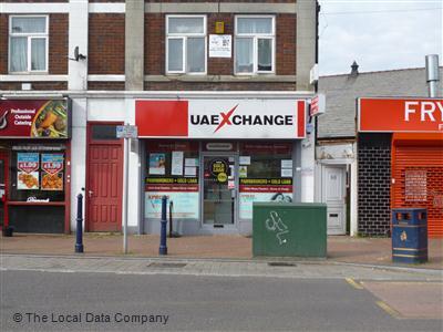 Uae xchange on dudley road bureaux de change in city centre