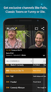 Pluto TV: TV for the Internet - screenshot thumbnail