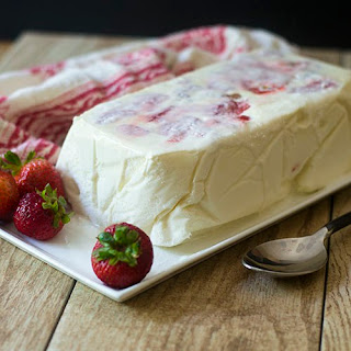Apricot and Strawberry Semifreddo Recipe