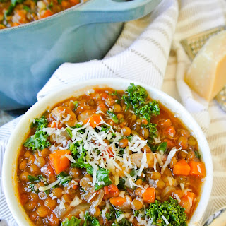 Lentil, Kale + Sausage Stew