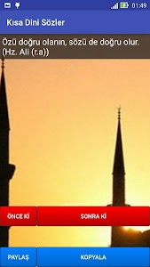 Kısa Dini Sözler screenshot 2