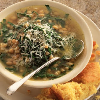 Spinach and Navy Bean Soup