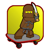 Ninja Skateboard Go