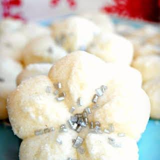 Almond Spritz Cookies {Gluten-Free, Dairy-Free}.