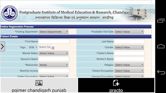 Pgimer Chandigarh Punjab screenshot 3