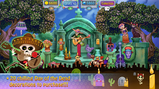 Day of the Dead Solitaire android2mod screenshots 2