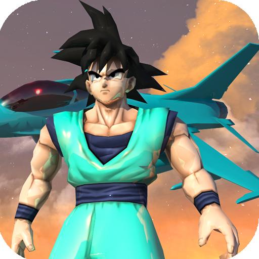 Fictional Goku Airbot Hero