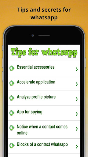 Tips for whatsapp