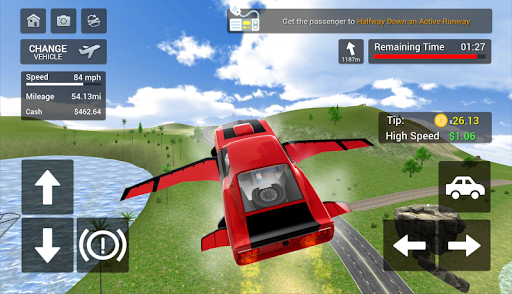 Flying Car Transport Simulator  screenshots 18