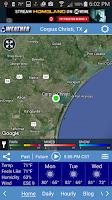 Screenshot of KRIS Weather