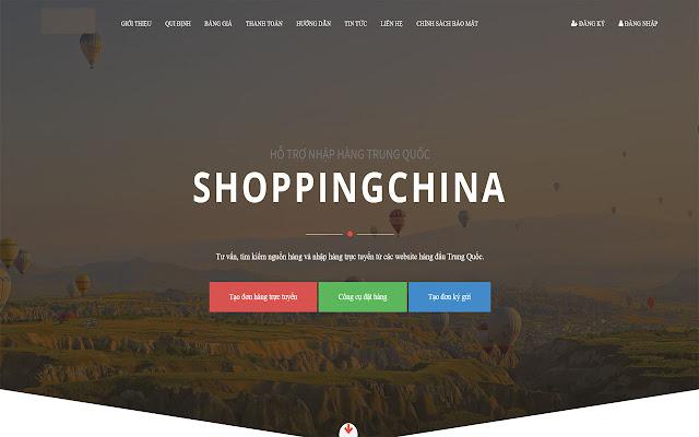 CÔNG CỤ ĐẶT HÀNG Chinashopping.vn