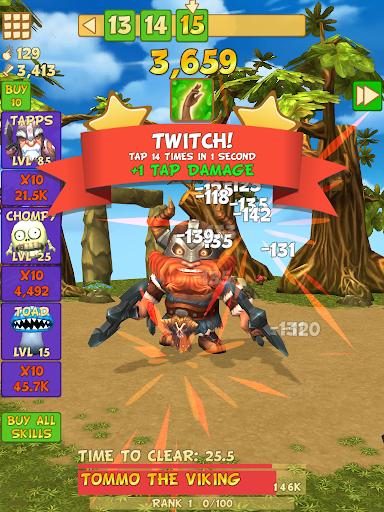Tap Tap Infinity - Idle RPG 1.7.14 screenshots 12