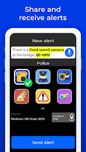 Radarbot Free: Camera Detector & Speedometer MOD (Unlocked) 4