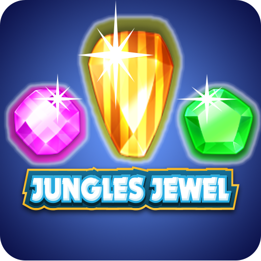 jungle jewel match 3 puzzle (game)