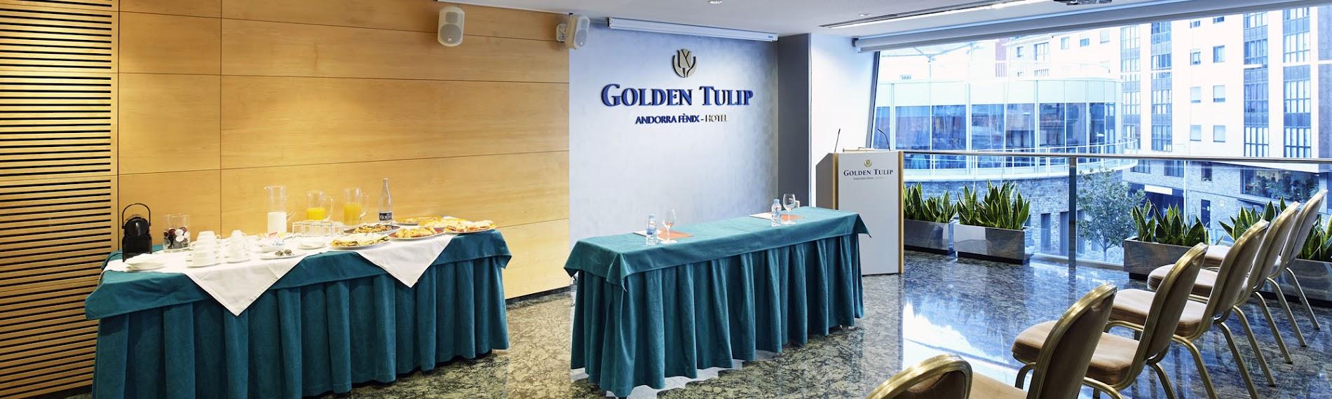 Reserve o seu evento único no 4* Golden Tulip Andorra Fenix em Andorra