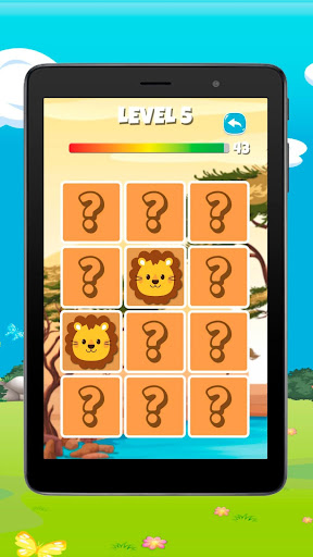 MemoKids: Toddler games free. Memotest, adhd games screenshot 9