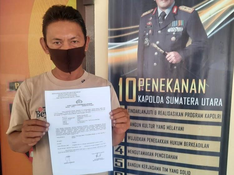 Pimred Media Online Laporkan Petugas Piket Arogan Ke Propam Polrestabes Medan